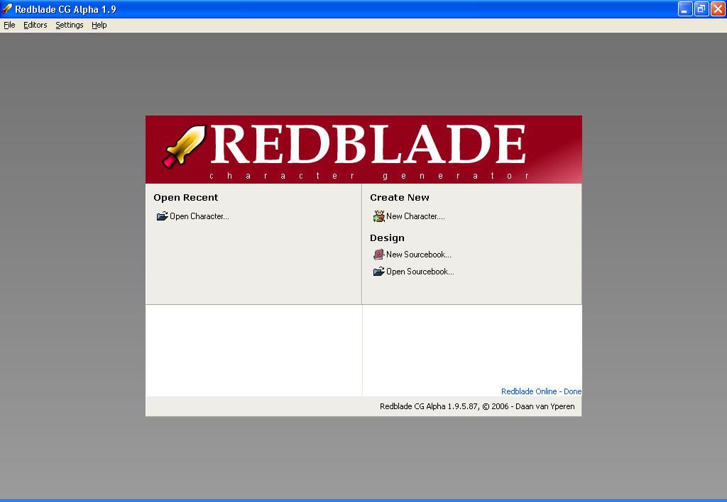 redblade org